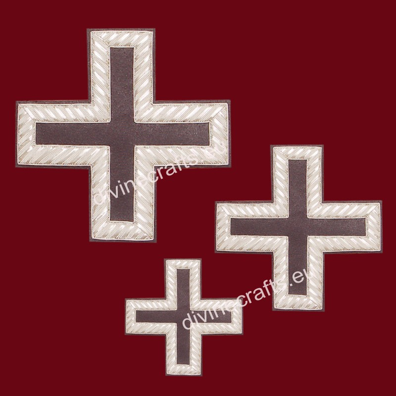 Clerical Embroidered Cross Set
