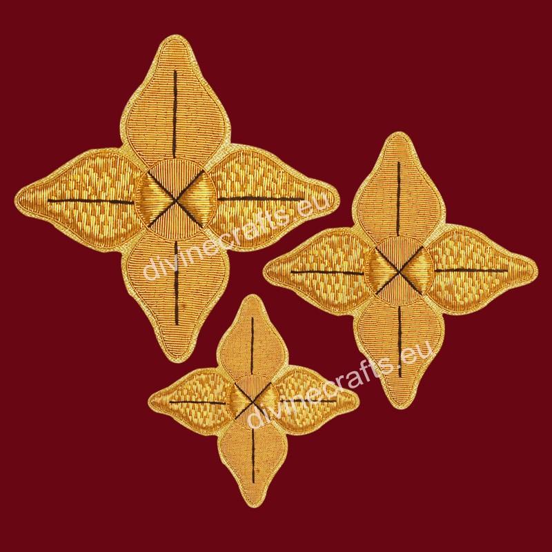 Clerical Embroidered Cross Set for New Elegant Design