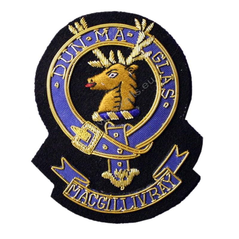 Macgillivray Clan Crest Blazer Badge
