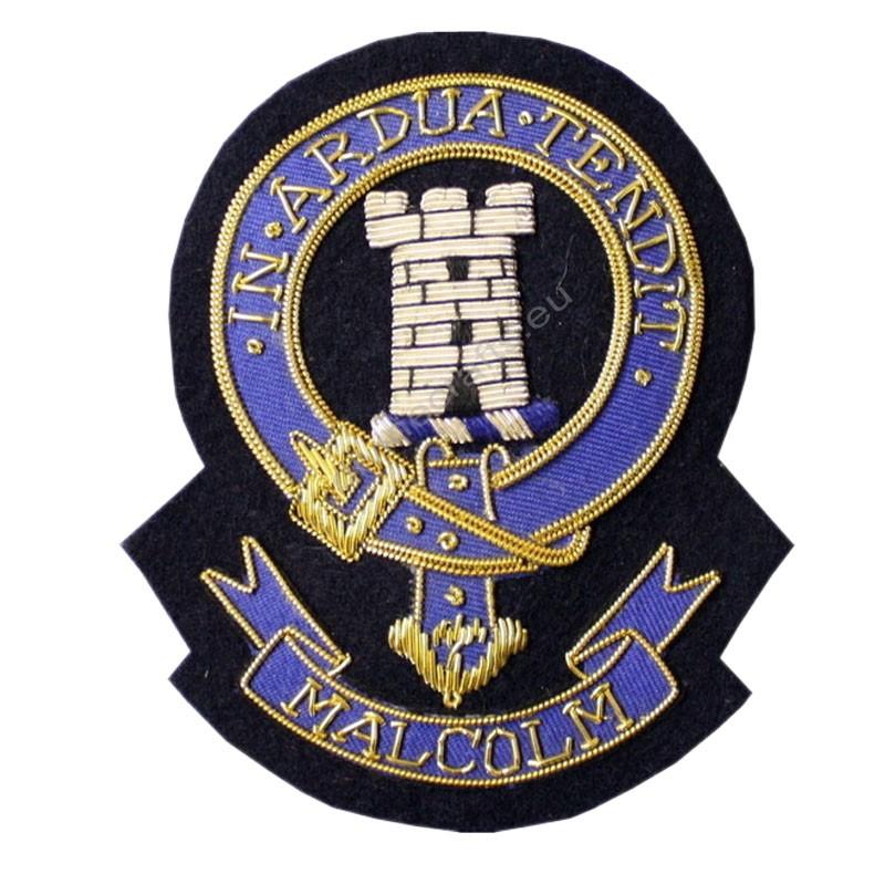 Malcolm Clan Crest Blazer Badge