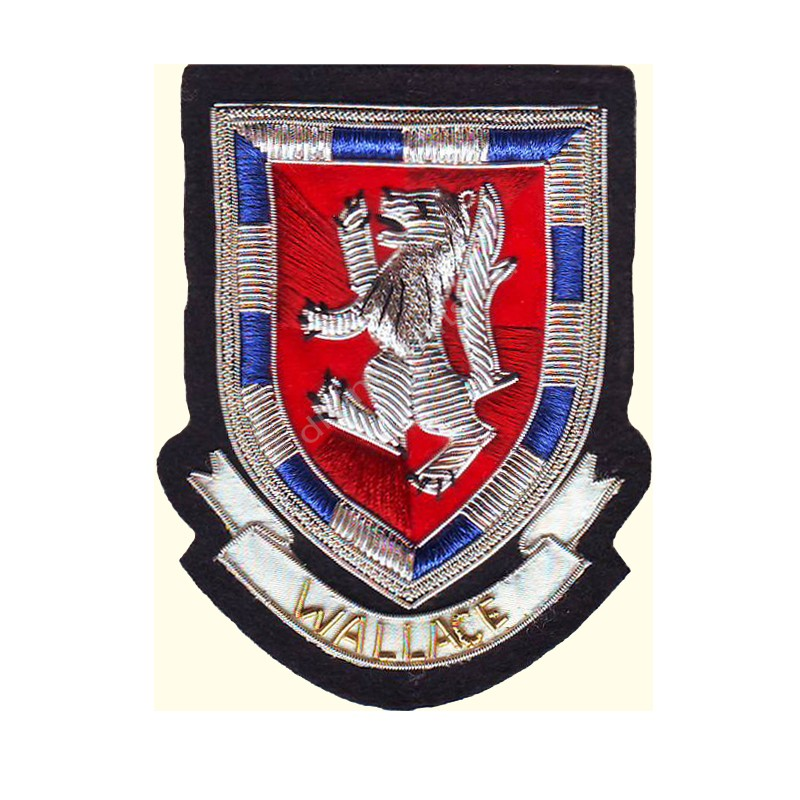 Wallace Clan Crest Blazer Badges