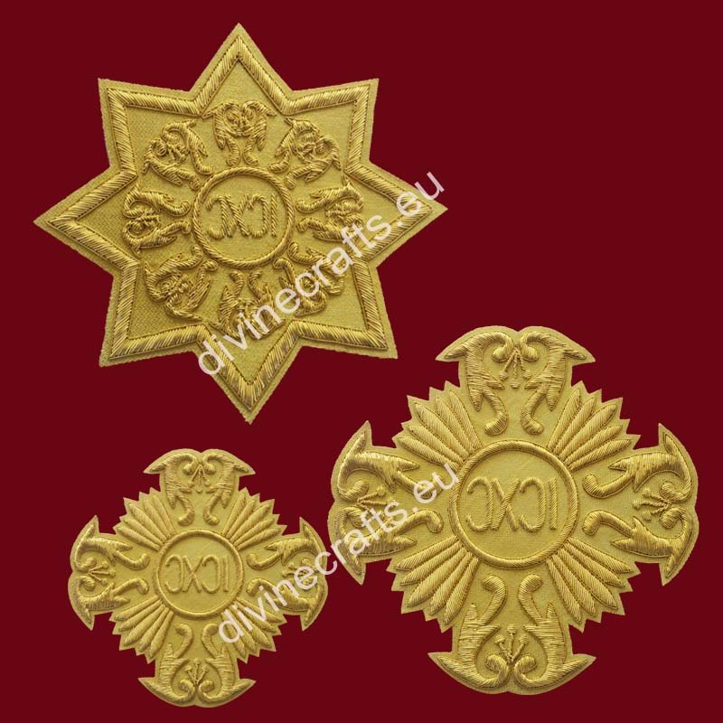 Byzantine Crosses For Russain Style