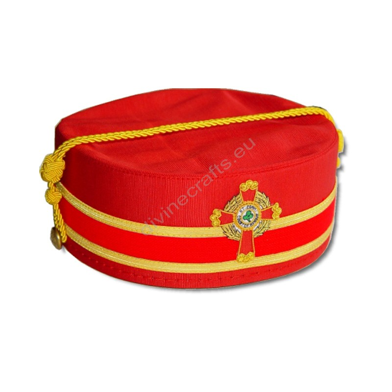 Red Scottish Rite Cap-S-M-J