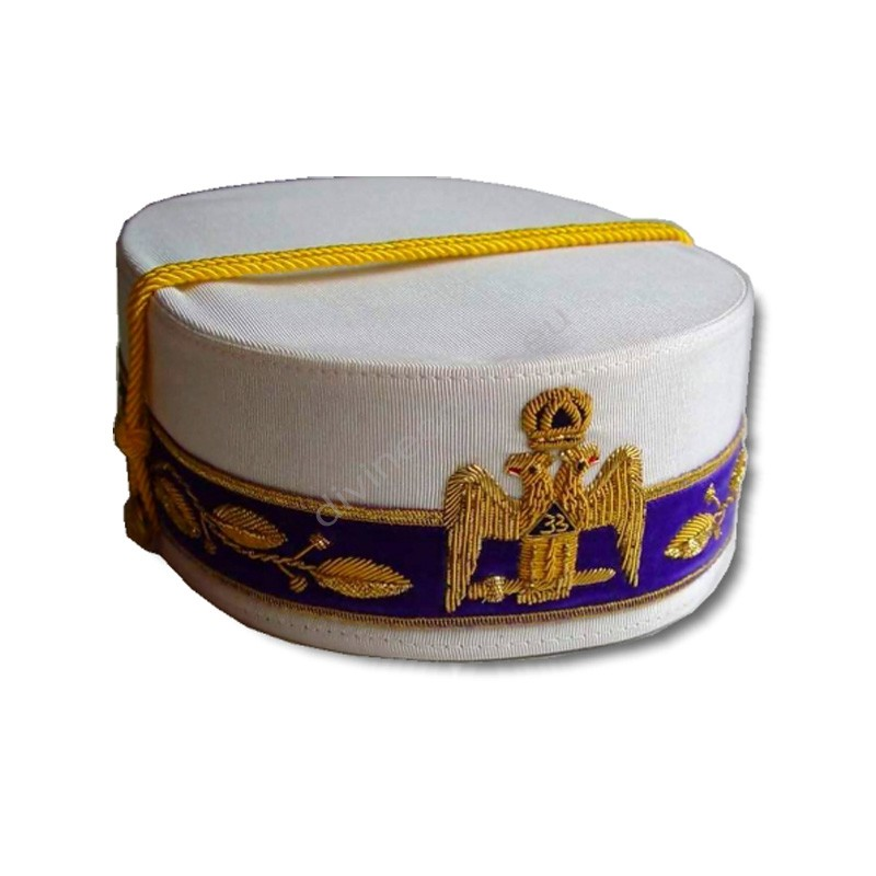Scottish Rite White Cap