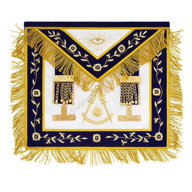 Embroidered Past Master Masonic Aprons