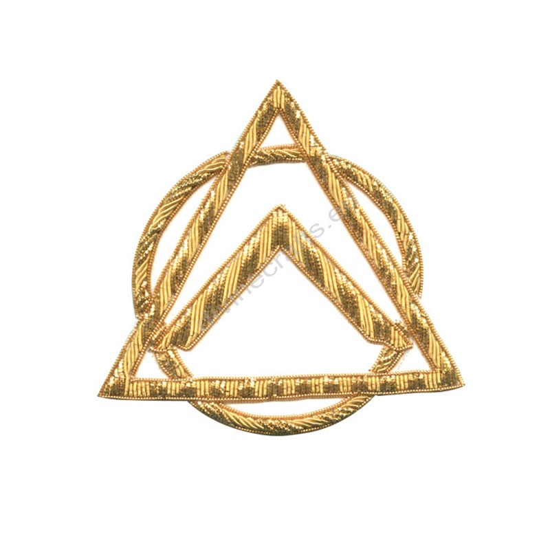 Mark Provincial Full Dress Apron Badge