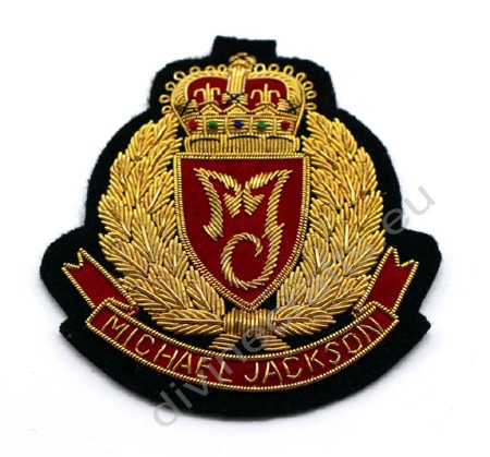 Custom Made Blazer Bullion Badges
