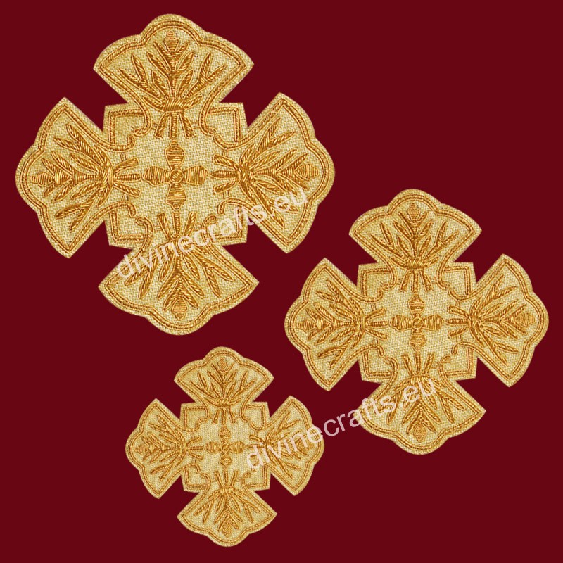 Orthodox Vestment Cross Set