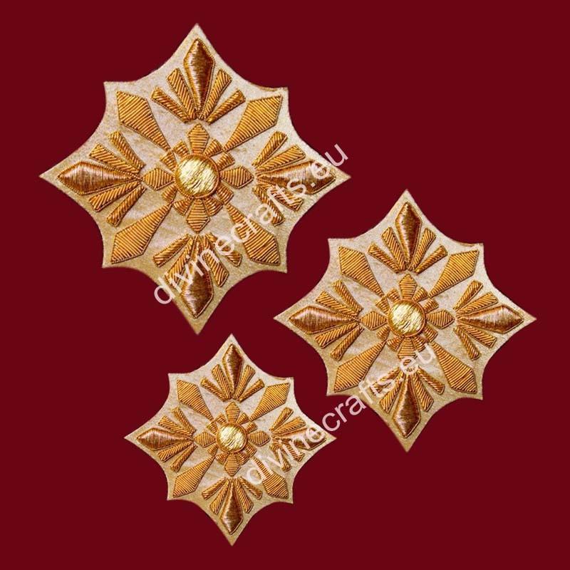 Embroidered Stunning Cross Set