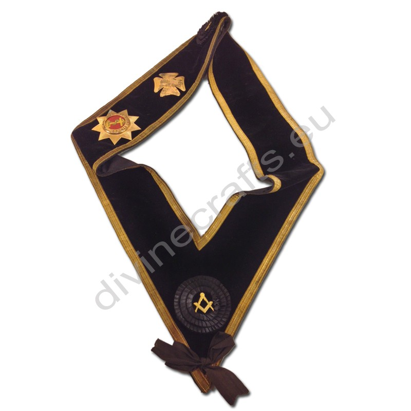Masonic Fraternal Organization Ceremonial Sash