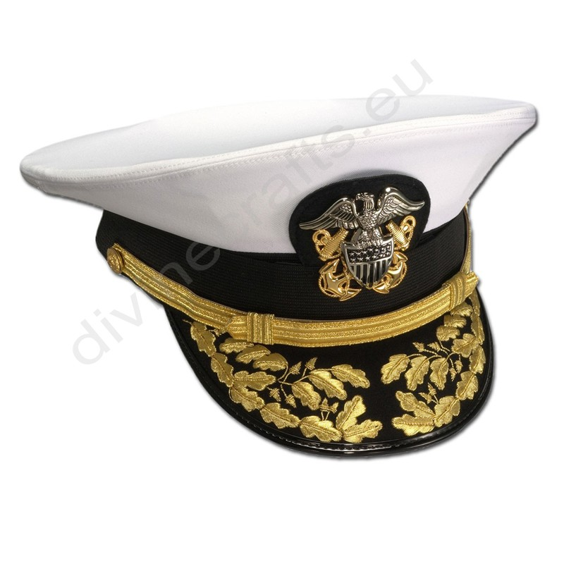 Men's Admiral's Formal Combination Cap