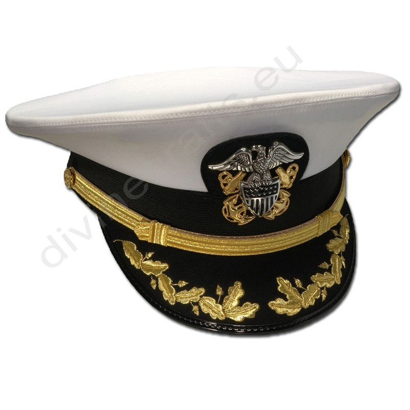 Men's Commander's Formal Combination Cap