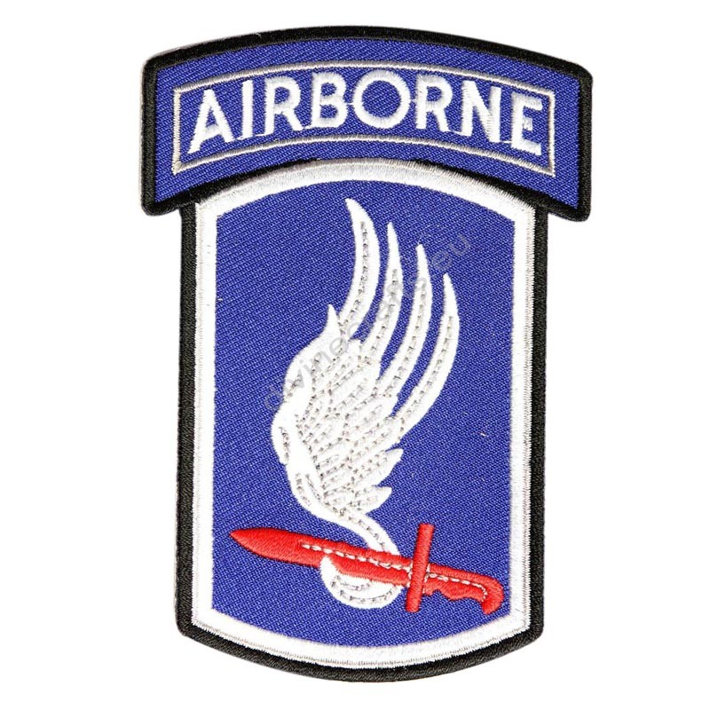 Blue Airborne Patch