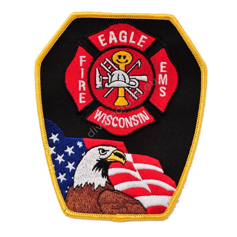 Wisconsin Fire EMS Patch