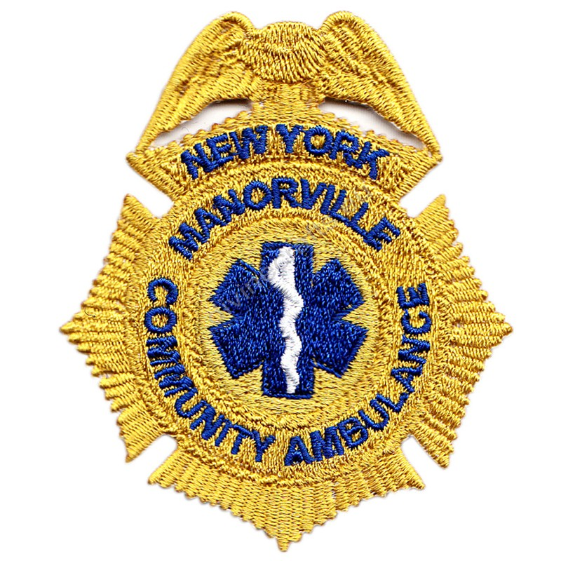 Community Ambulance Embroidered Patch