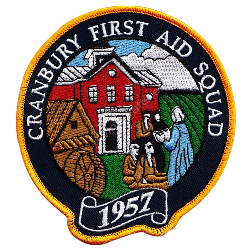 Cranberry First Aid Squad Embroidered Patch