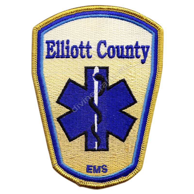 Elliott Embroidered Patch