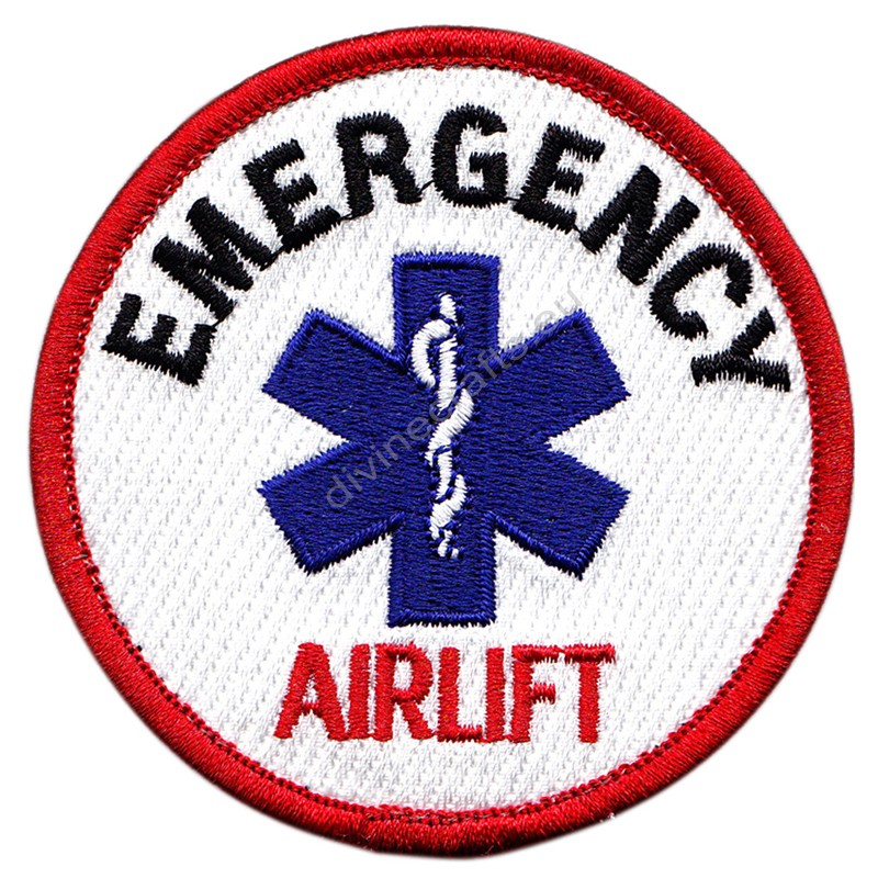 Emergency Airlift Embroidered Patch