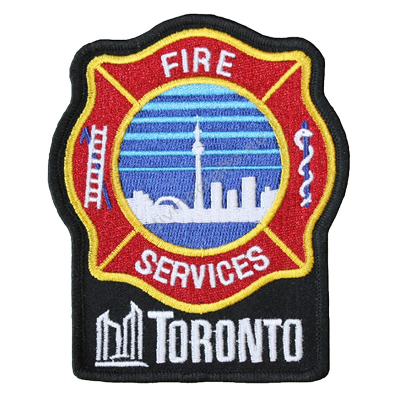 Fire Toronto Embroidery Patch