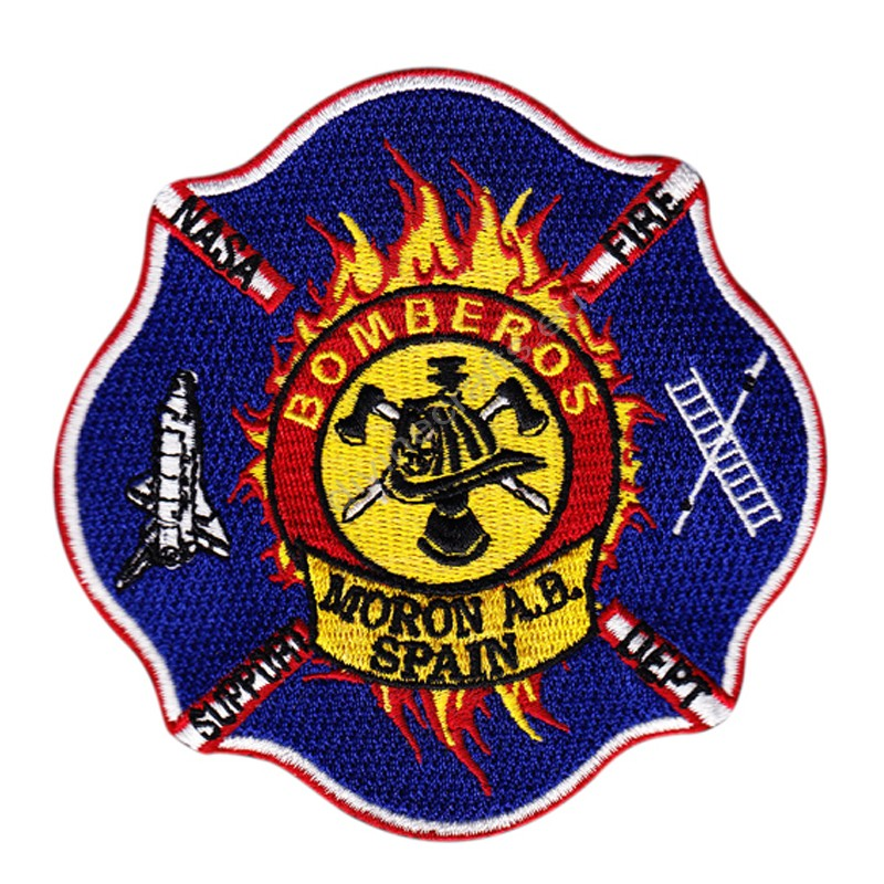 Bomberos Embroidered Patch