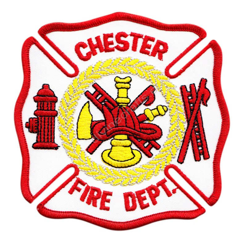 Chester Fire Embroidered Patch