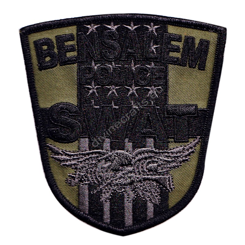 Bensalem Swat Embroidered Patch