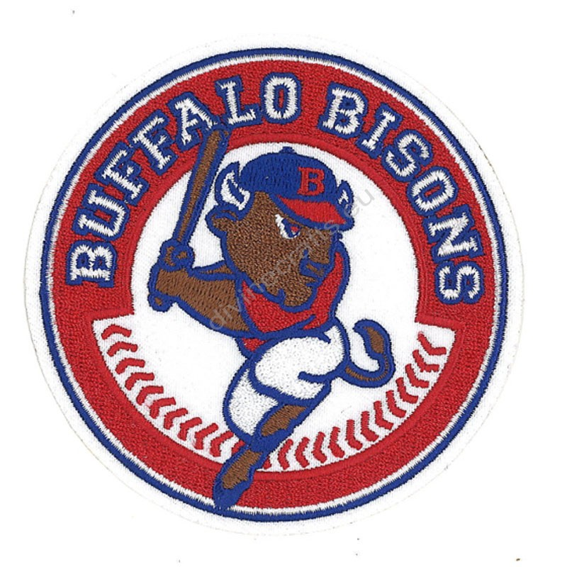 Buffalo Bisons Red Patch