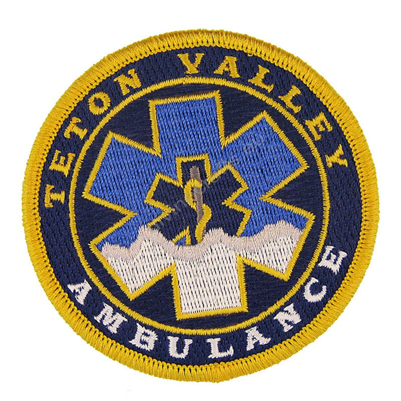 Medic Teton Embroidered Patch