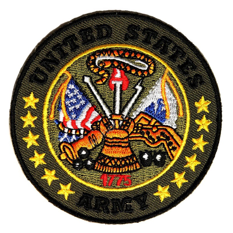 Army Circle Green Patch
