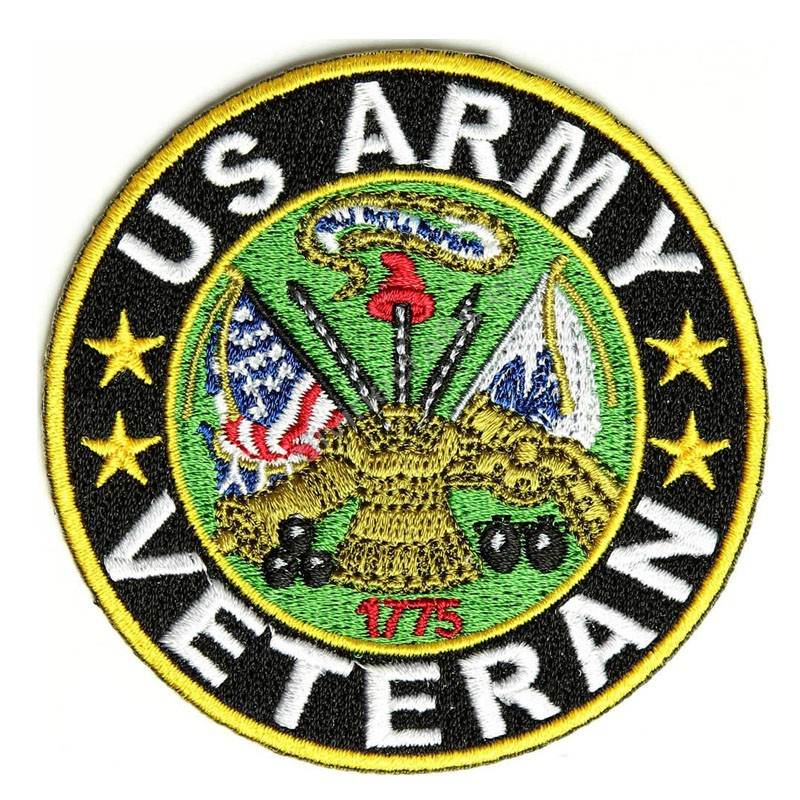 Veteran US Army Patch