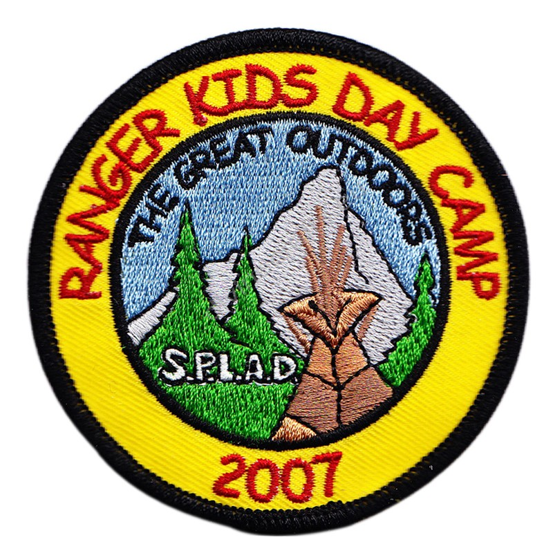 Splad Embroidered Patch