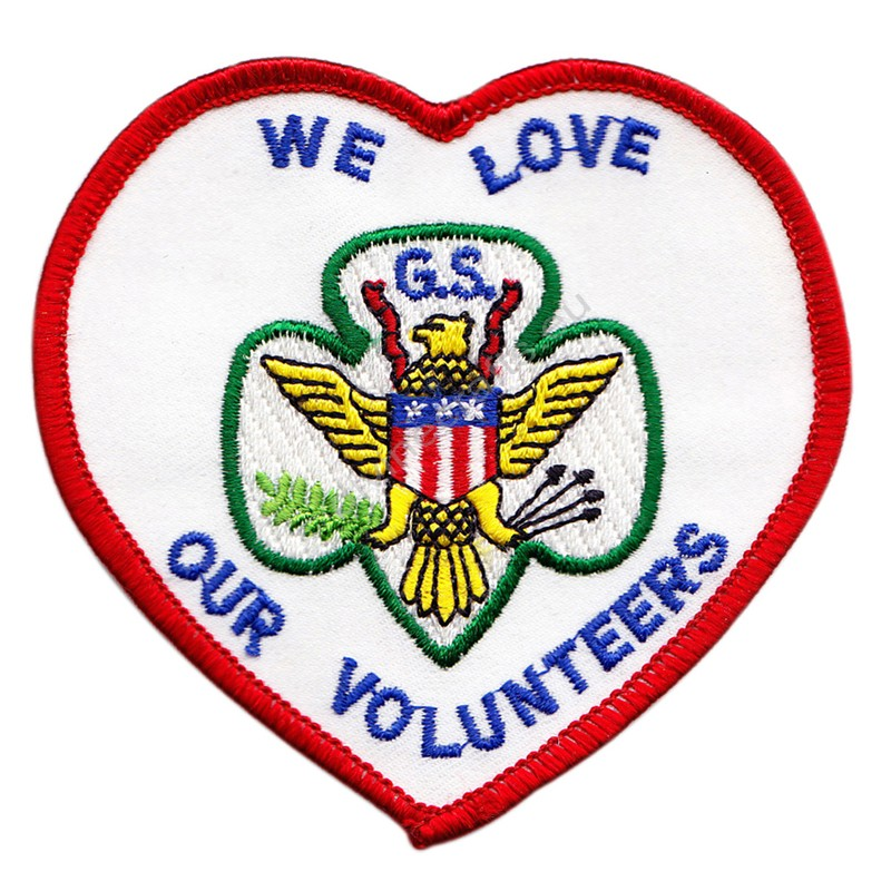 Volunteers Embroidered Patch