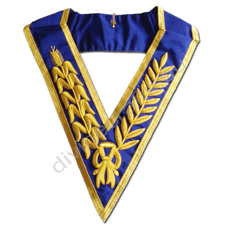 Masonic Grand Lodge Embroidered Collar