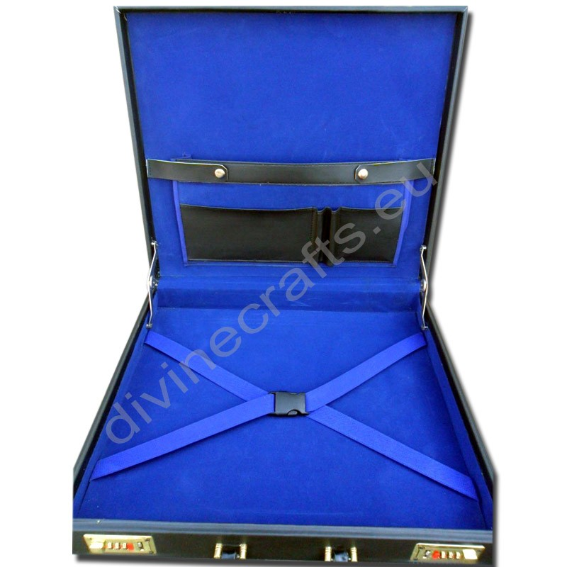 Regalia Masonic Master Mason/ Provincial Apron Case Hard