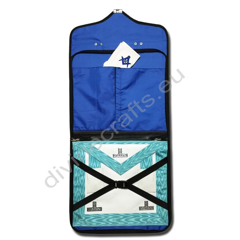 Masonic Regalia MM, WM Apron Case Master Mason, Worshipful, Royal Arch, Mark Regalia