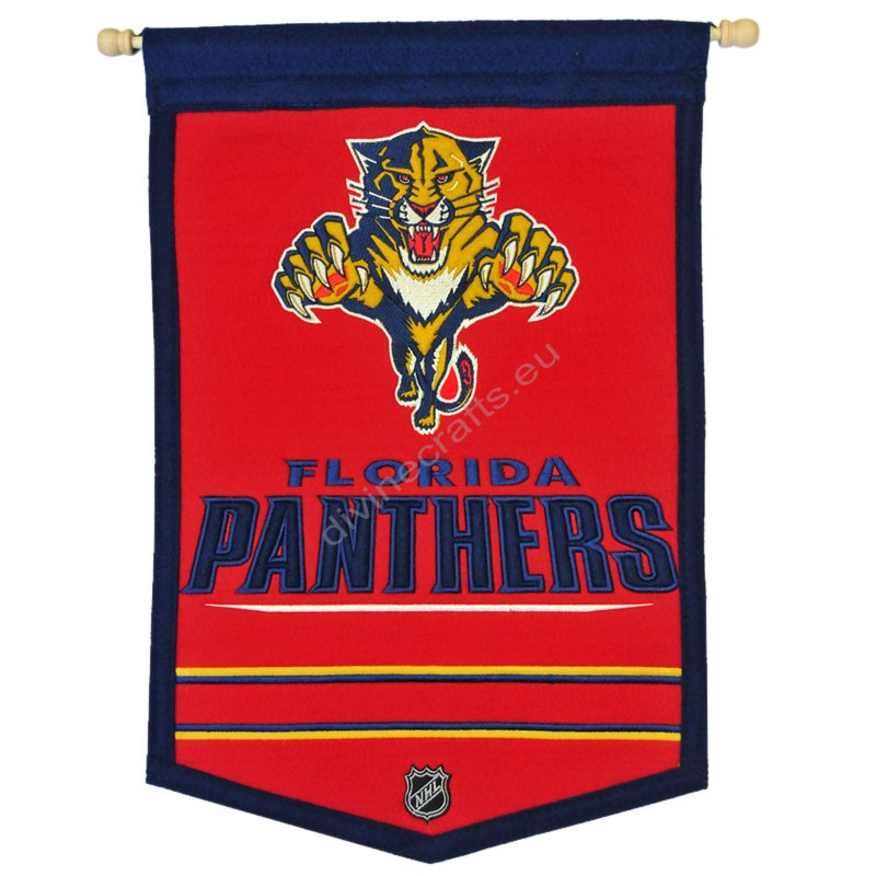 Panther Embroidered Wall Banner