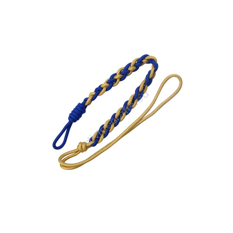 Royal Blue Dress Aiguillette