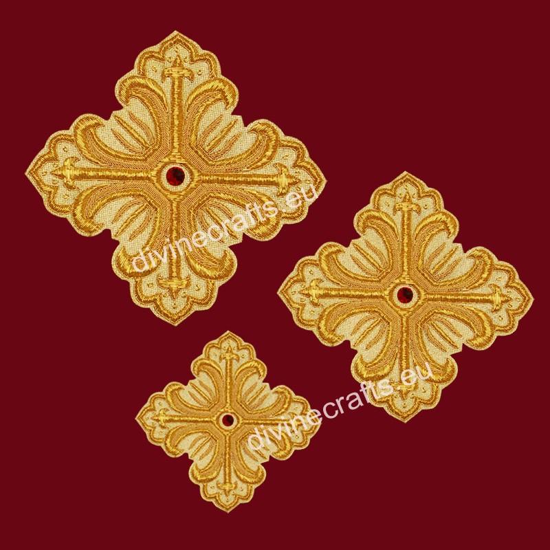 Embroidered Cross Set For Bishop