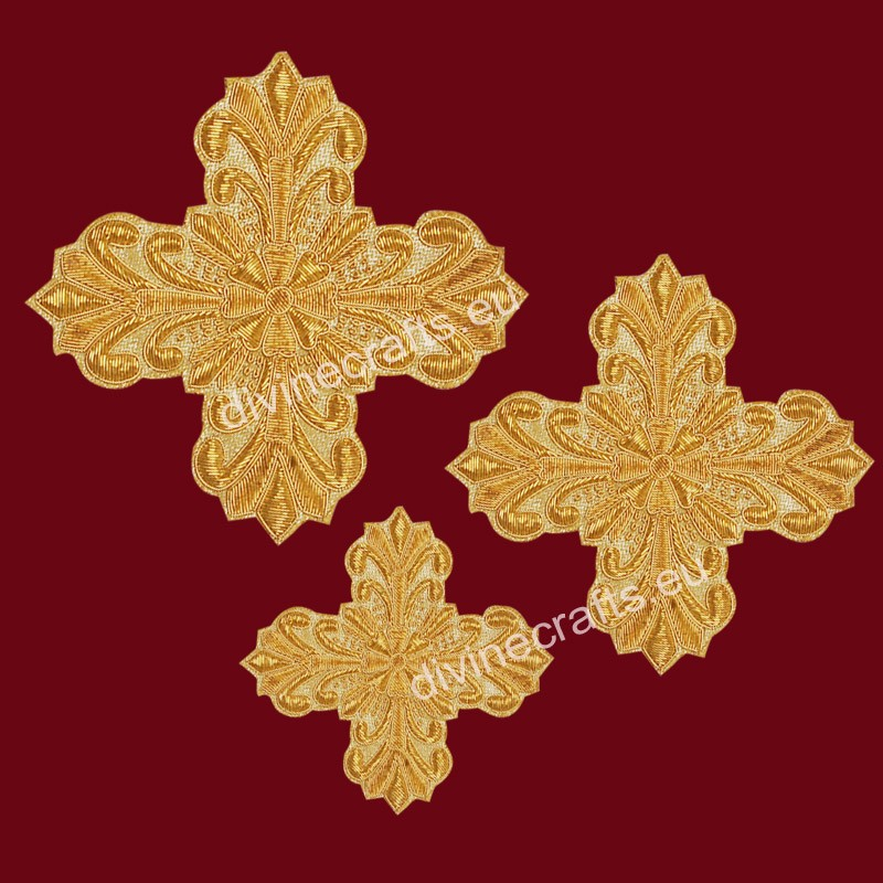 Handmade Orthodox Vestment Cross Set
