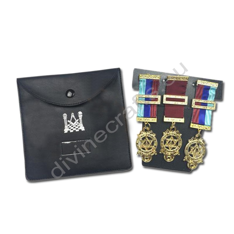 High Quality Masonic Regalia Pocket Jewel Holder / Wallet Masonic Carry Case