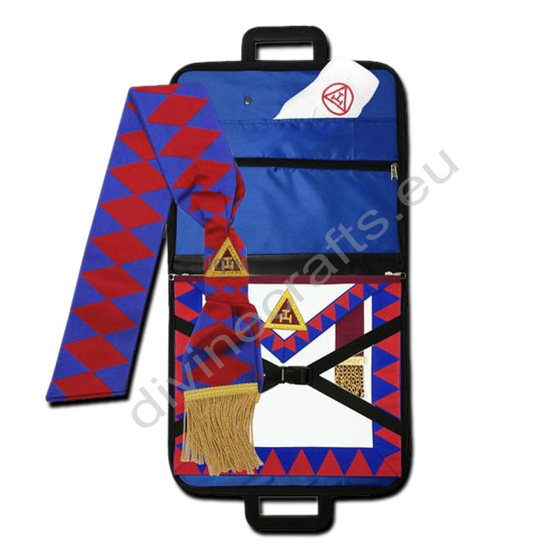 Masonic Regalia Royal Arch Principal Apron,Masonic Case,Sash,Gloves Set