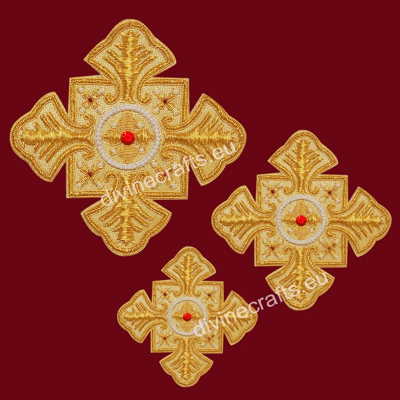 Byzantine Liturgical Cross Set