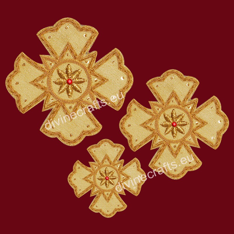 Byzantine Liturgical Embroidered Crosses