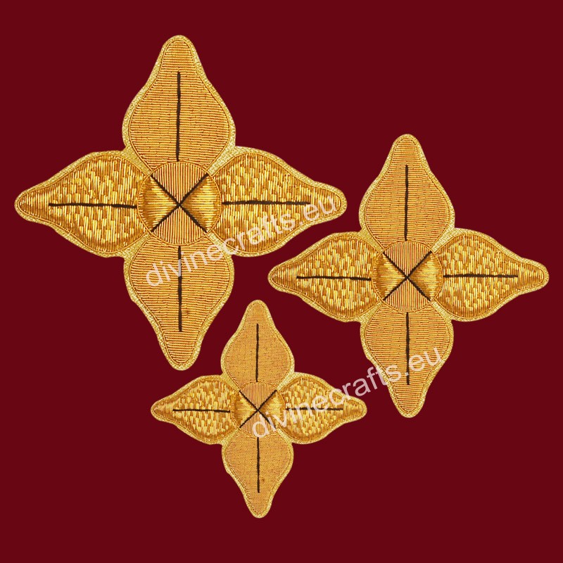 Clerical Embroidered Cross Set for New Elegant Design