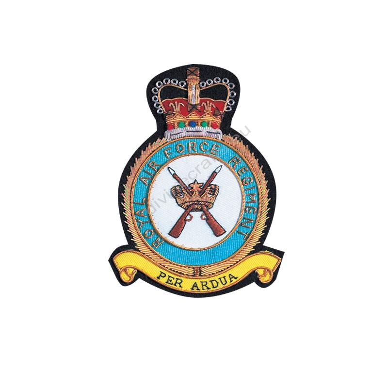 Royal Air Force Regiment Blazer Badge