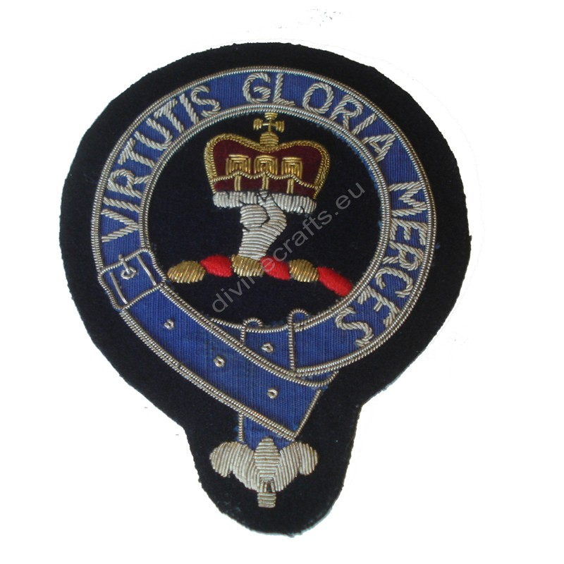 Clan Hand Embroidered Blazer Badge