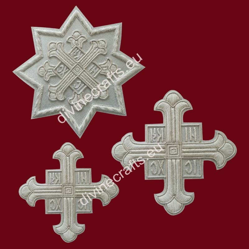 Silver Liturgical Cross Set