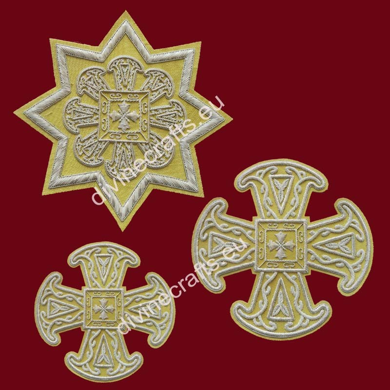 Clerical Embroidered Set of Russian Style