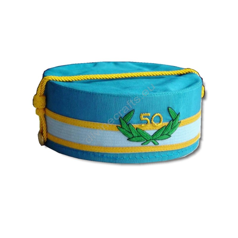 50 Year Scottish Rite Cap-S-M-J