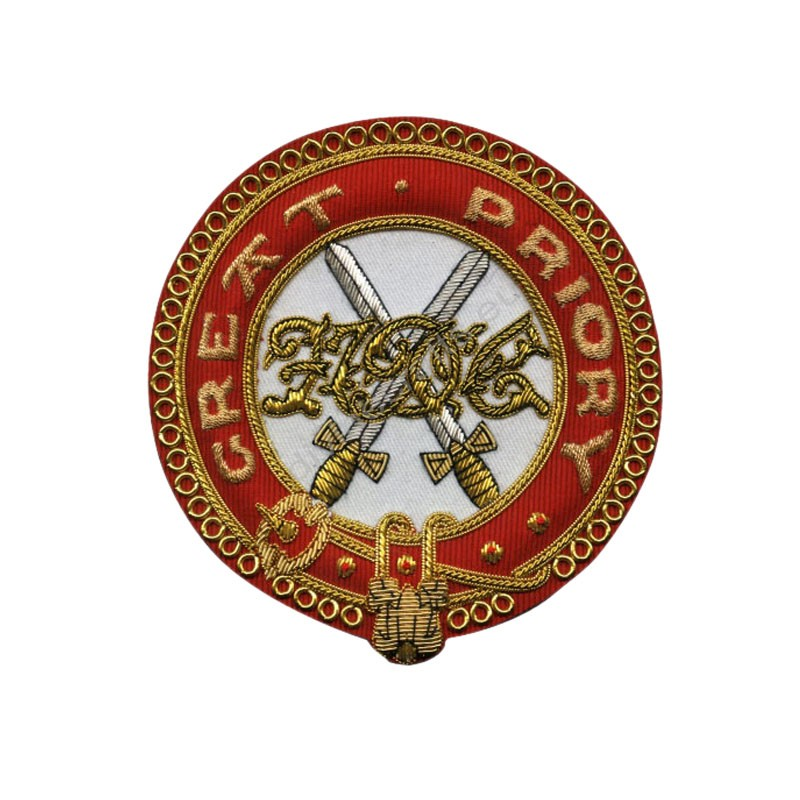 K.T. Great Priory Officers Mantle Badge